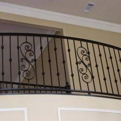 Balcony grills in ahmedabad gujarat india indiamart for Balcony safety grill designs