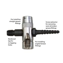 4 Way Grease Fitting Tools