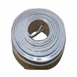 White Wire Cable