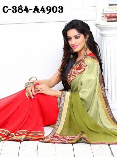 613e323277 Sare Navratri Special Designer Sarees at Rs 2110 /piece | Fancy ...