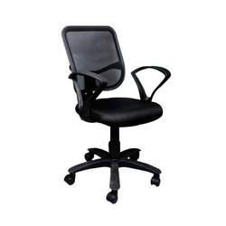 Square Net Back Office Chair