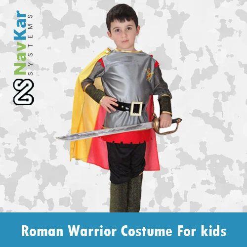 3ad4d4a322c Roman Warrior   Roman Soldier Fancy Dress Costumes Kids