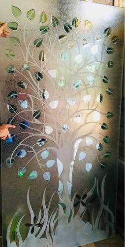 Partition Design glass