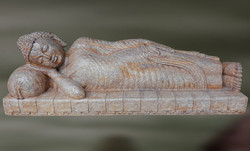 Sandstone Moksha Sculpture