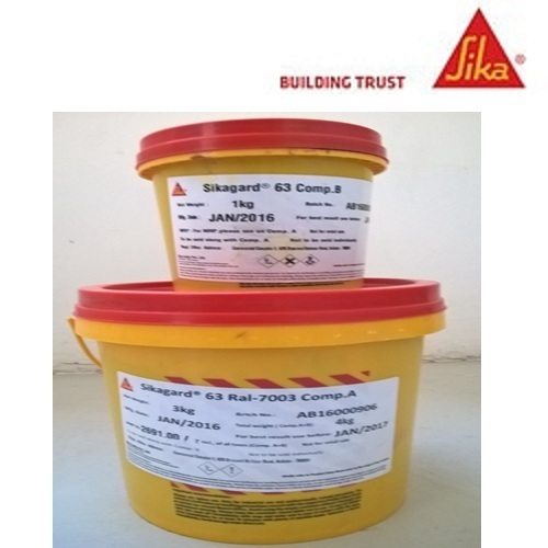 High Chemical Resistance Epoxy Resin Base Protective Coating - Sika