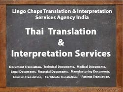Thai Language Translation & Interpretation Services