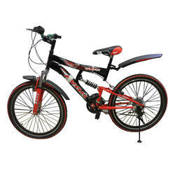 Black And Red Avon Traxx Bicycle, Foam Padded With Backres
