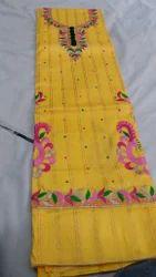 Amira Self Cotton Suit