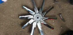 Steel Blade Angular Fan