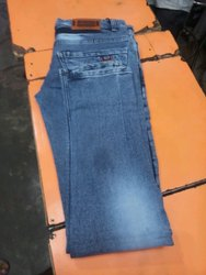 Men Light Blue Jeans