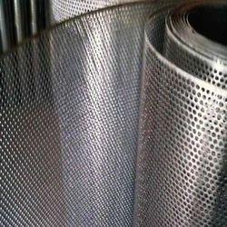 Round Hole Aluminum Perforated Screen
