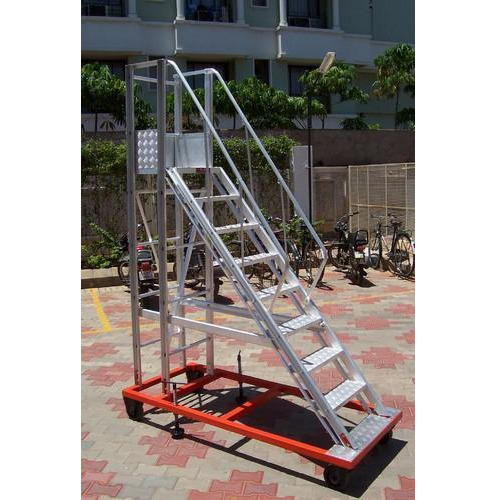 Delightful Staircase Platform Ladder