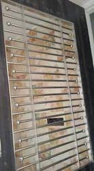 Steel Grill Window