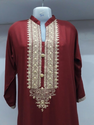 Red Designer Ladies Kurta