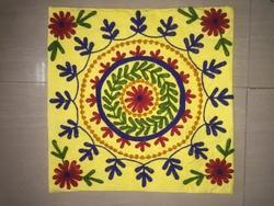 Colourful Embroidery Designer Suzani Cushion Cover