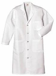 White Cotton Appren, Size: Medium
