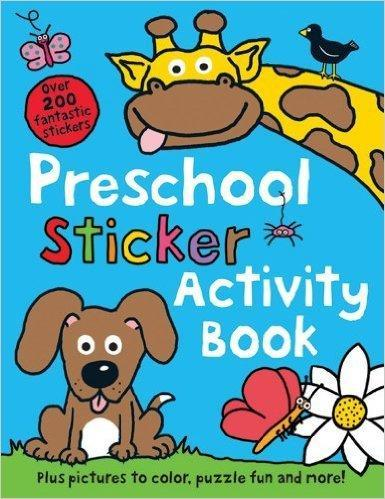Preschool Color and Activity Book, Children Activity Book ...