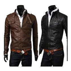 Men Leather Jackets In Delhi प र ष क ल ए चमड