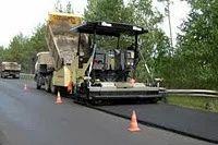 Bitumen Road Work