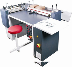 Semi Automatic Case Maker Machine, Production Capacity: 300 Cases/hr