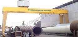 Industrial Double Beam Gantry Cranes