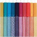 Printed Stripe Rugs
