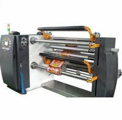 Semi Automatic Slitter Rewinder