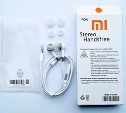 White Mobile Headphone