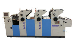3 Color Offset Printing Machine