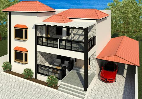 Creative Home Exterior Design And Home Elevation Design Services