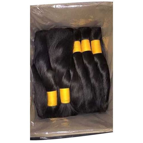 Non Remy Double Drawn Indian Hair