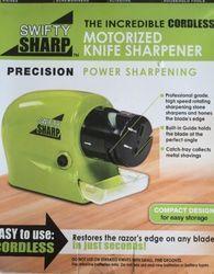 Swifty Sharp Knife Tool Cordless Motorized Sharpener