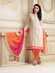 Cream Color Net Suit