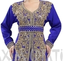 Dubai Khaleeji Thobe Caftan Maxi Dress