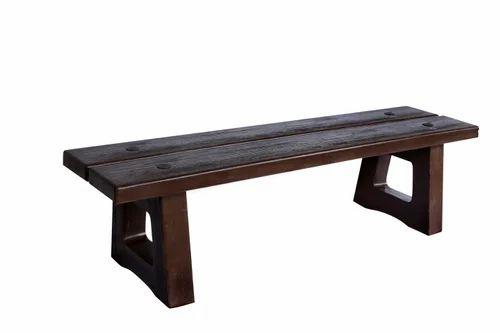 Garden Stool Bench Wooden Texture