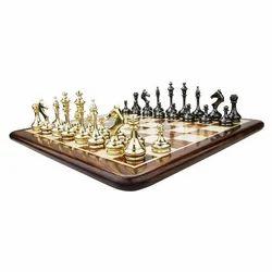 Luxury Classic Brass Chess Pieces