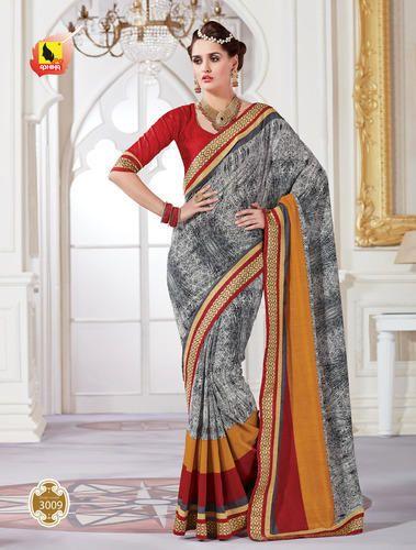 1800c9e970 Designer Party Wear Saree, Drape Saree - Ashika Sarees Ltd, Mumbai ...