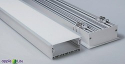 LED Linear Profile Recess 80Mm Housing