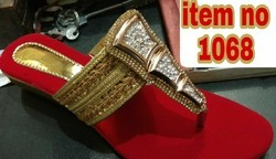 Veg Heel Slippers, Size: 6 to 12