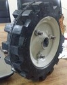 Generator Set Wheel With Ms Disc, Capacity: 100 Kg