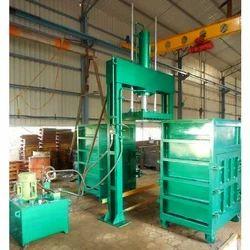 Double Box Hydraulic Baling Press