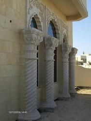 Stylish Stone Gate