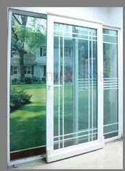 UPVC,Glass Partition Doors UPVC Sliding Door, For Home