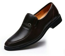 Formal Genuine Leather Shoes With TPR Sole