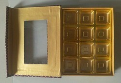 Board And Cloth Chocolate Gift Boxes
