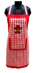Checked Cooking Apron