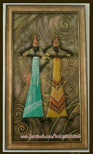 African Wall Mural Deewar Bhitti Chitra Creative Fine Arts