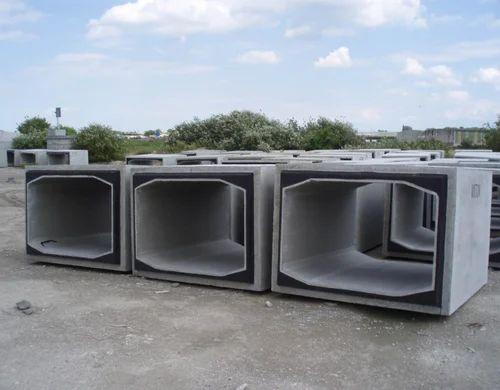 Box Culvert At Rs 9500 Meter Precast Concrete Box