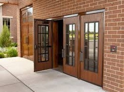 Metal Door Wood Grain Coating Services