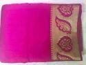 Jari Border silk cotton saree